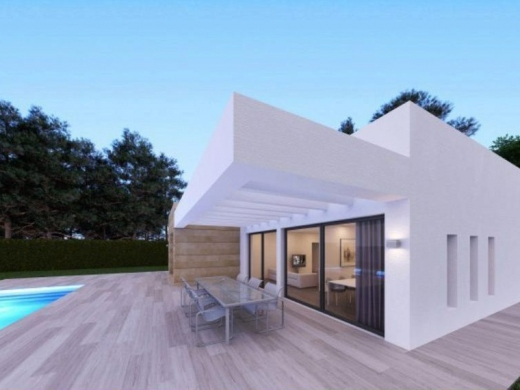3 bed new build in Javea