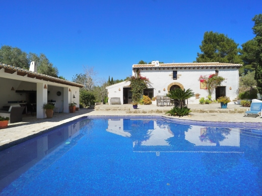 4 bed country houses - fincas in Javea