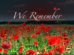 Remembrance Day Services in Javea
