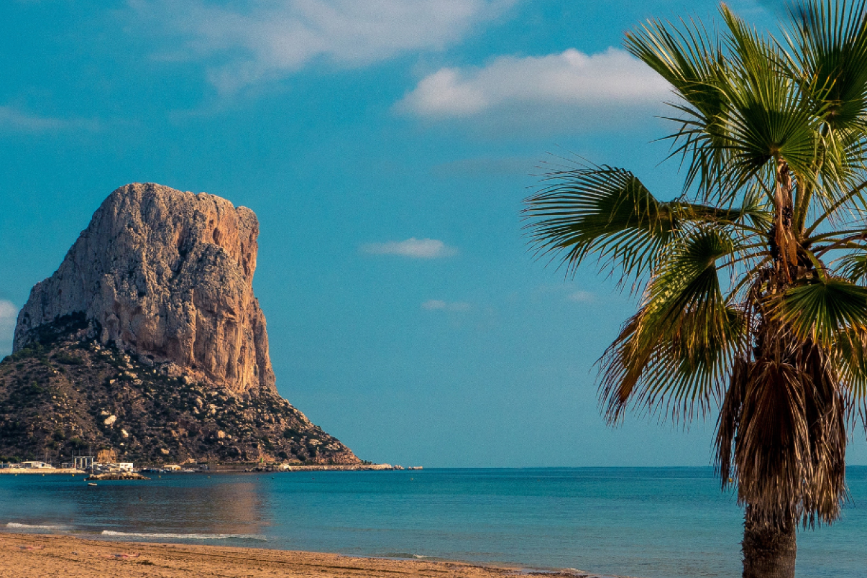 Pe 241 On De Ifach Calpe Rock Calpe Places To Visit In