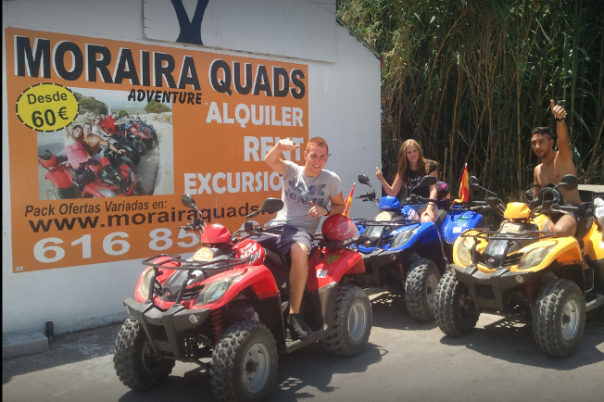 Moraira Quads - Quad Bike, Buggy & Jet Ski Rental
