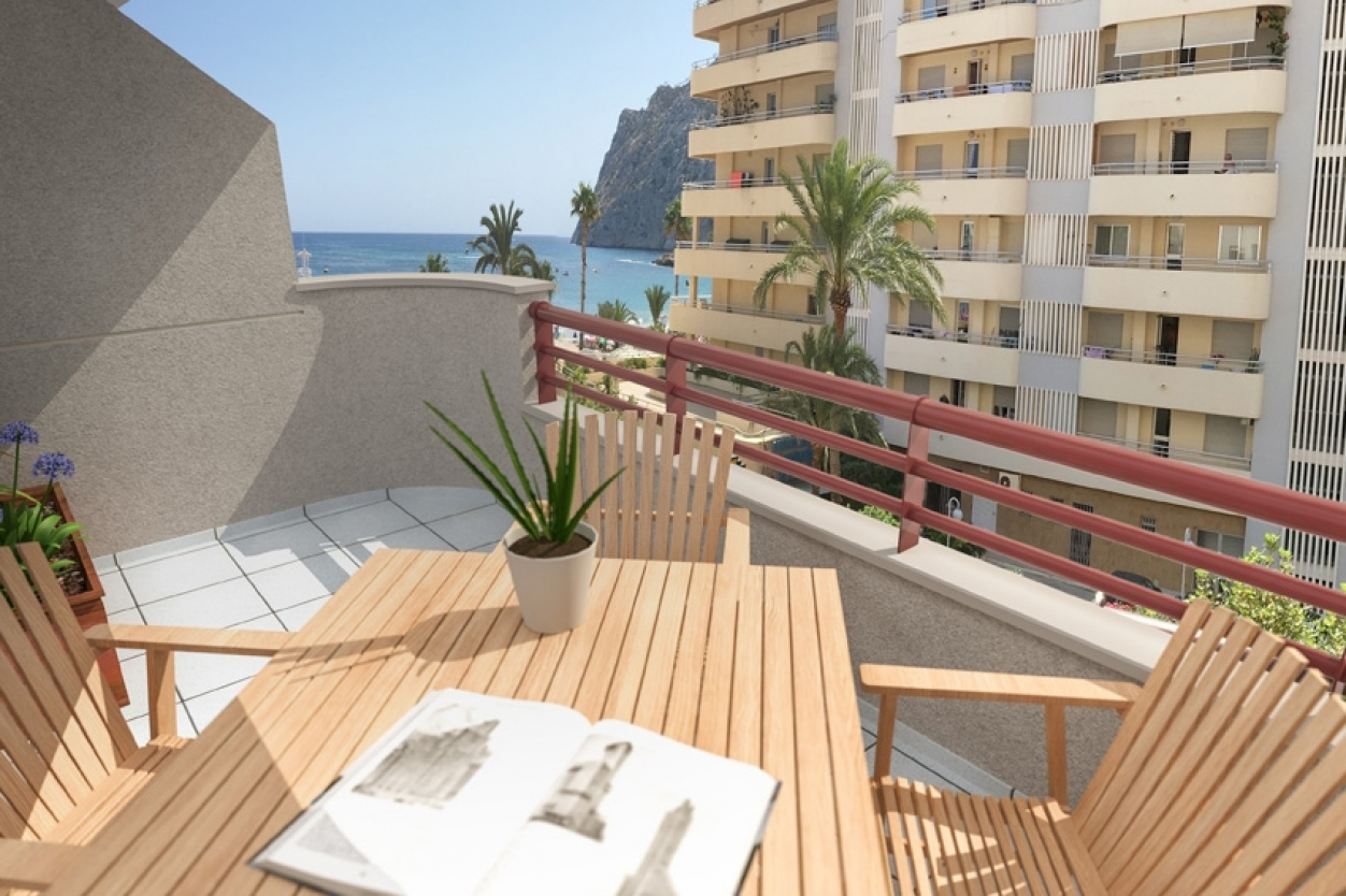 2 bed apartments / penthouses in Calpe