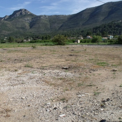 land for building in Parcent