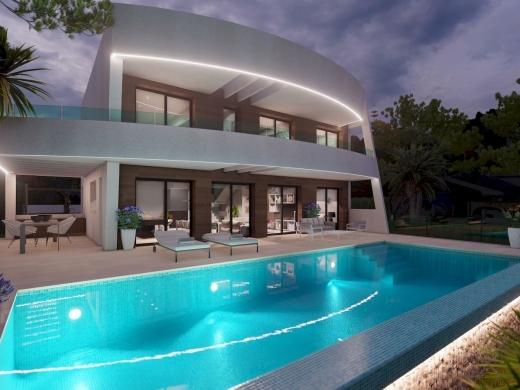 4 bed villa de lujo in Moraira