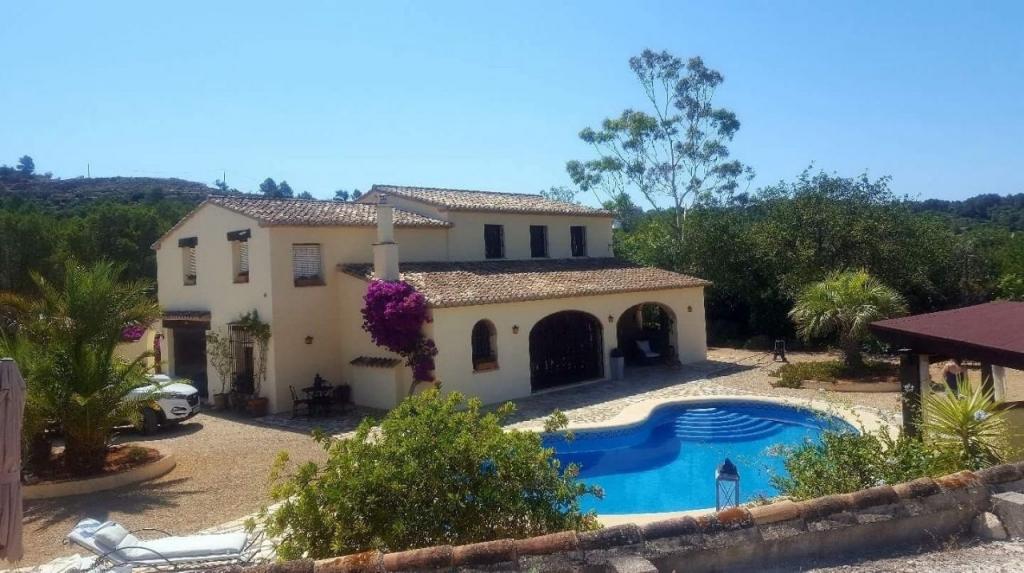 4 bed casa de campo in benissa property for sale in - Casas en benissa ...