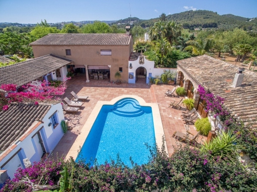 8 bed finca / country house in Javea
