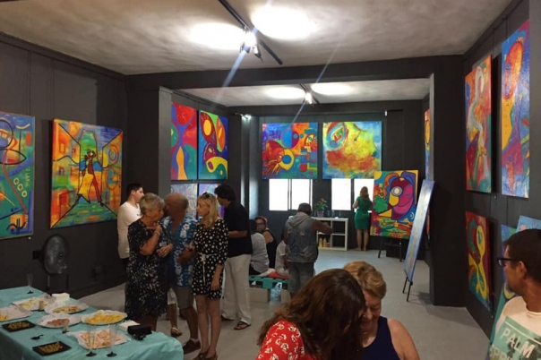 NK Moss Art Studio Opens its doors in Calpe