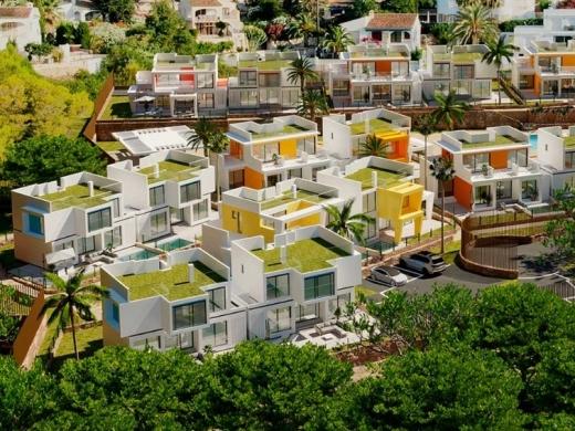 3 bed semi-detached villa in Moraira