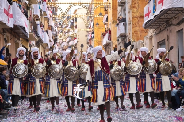 Fiestas in Javea: Moors & Christians (July 2019)