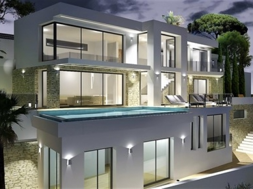 4 bed new build in Moraira