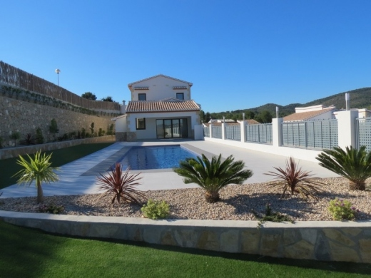 3 bed new build villa in Javea