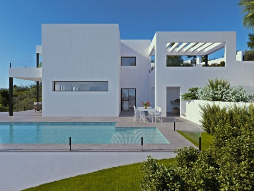 3 bed new build villa in Cumbre Del Sol