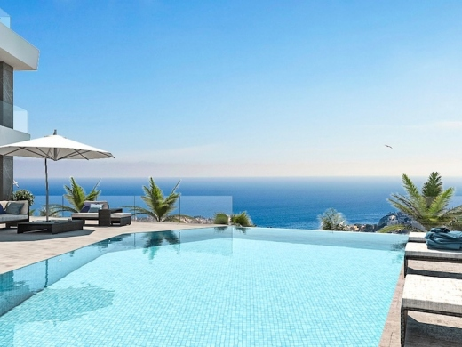4 bed villas in Calpe