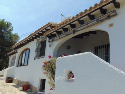 2 bed bungalows in Moraira