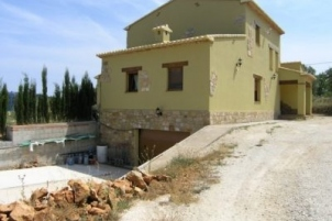 4 bed finca in Benissa