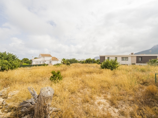 building plot in Calpe