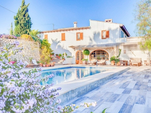 8 bed country house in Moraira