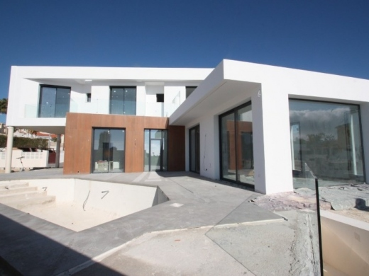 4 bed new build villa in Calpe