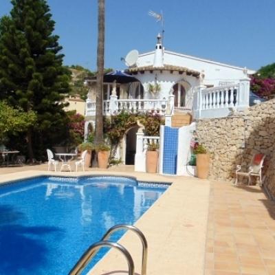 3 bed villas & fincas in Benissa