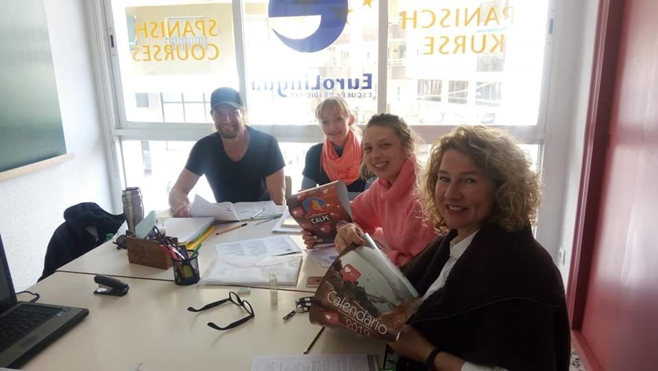 Spanish Classes from Eurolingua Language School in Calpe