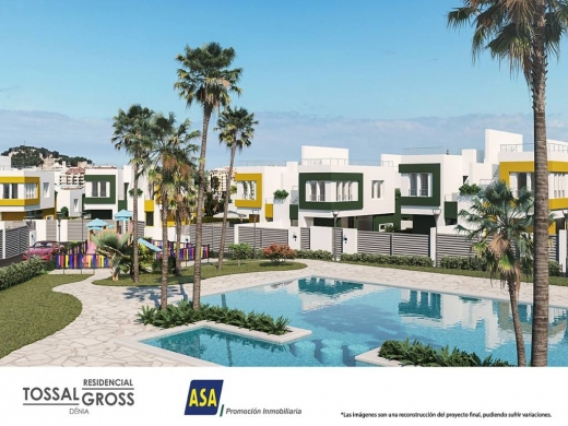2 bed townhouses in Denia
