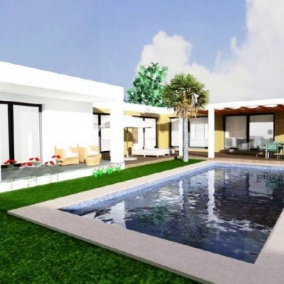 2 bed plot and build in Moraira