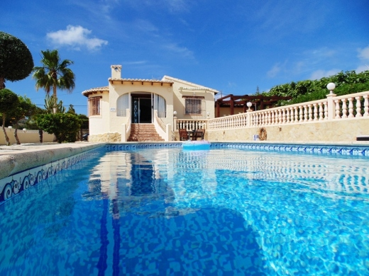 2 bed villa in Benitachell