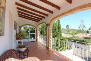 3 bed villa in Javea