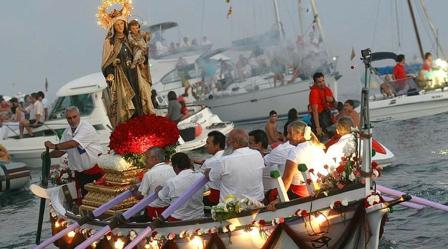 "Fiestas in Calpe: ""Virgen Del Carmen"" (July 2019)"