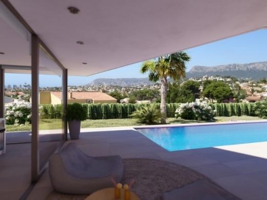 4 bed new build villa in Benissa