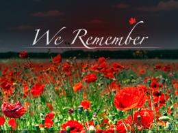 Remembrance Day Service in Calpe - 12 November