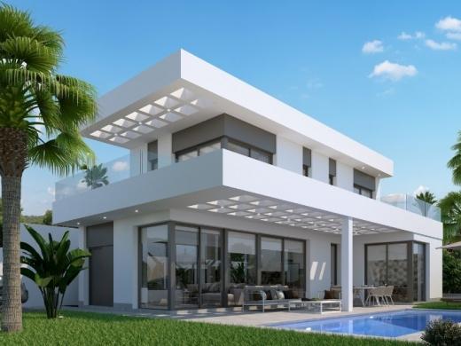 3 bed new build villa in Finestrat