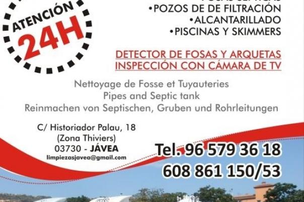 Limpiezas Javea - Septic Tank cleaning
