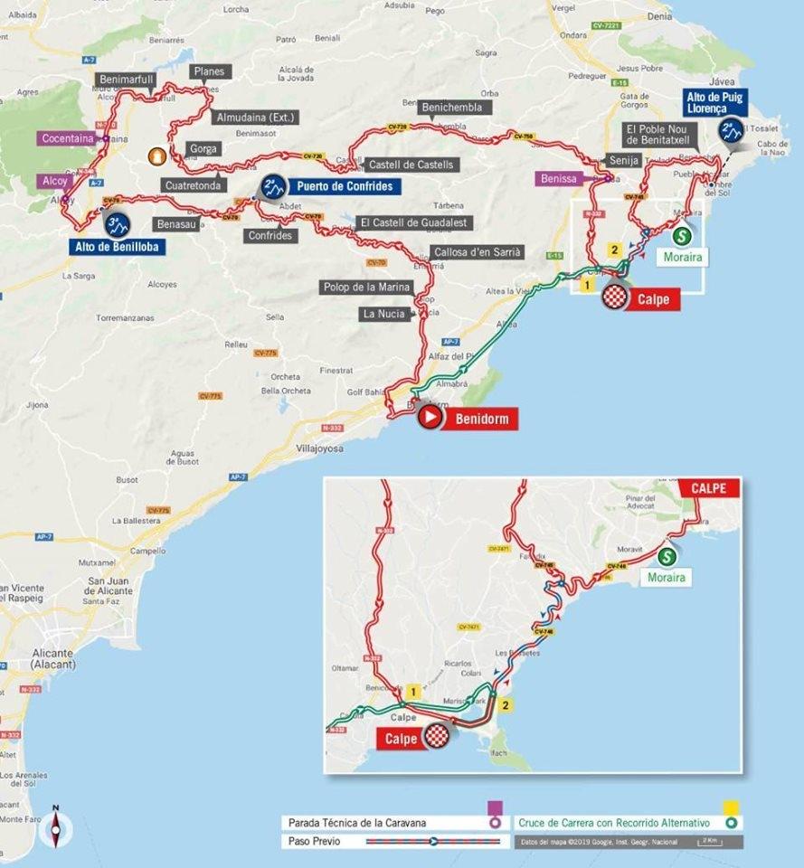 La Vuelta 2019 - Costa Blanca (Stage 2 Calpe, Benissa & Moraira)