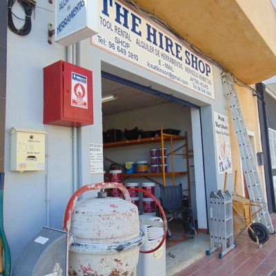 The Hire Shop Benitachell - Tool & Equipment Hire