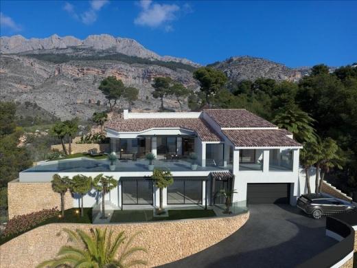4 bed villa in Altea la Vella