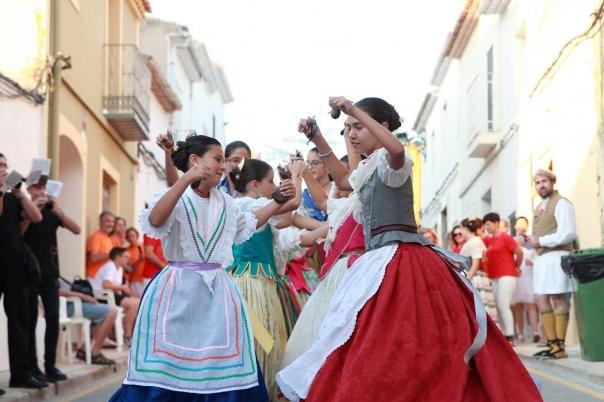 Fiestas in Moraira: