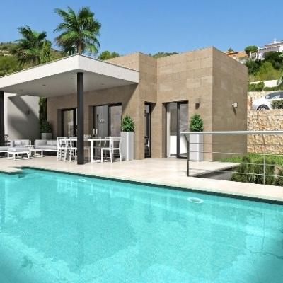2 bed new build villa in Pedreguer