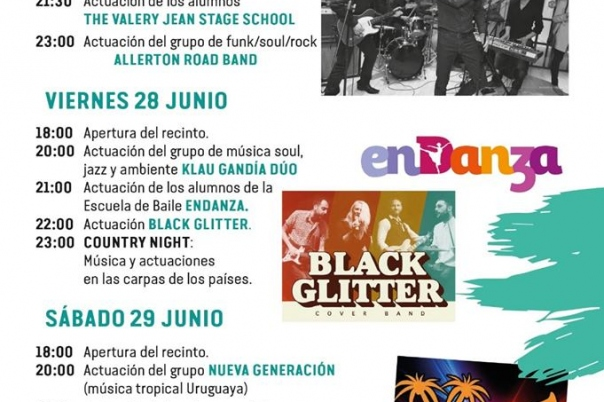 Festivals in Javea: International Festival (June 2020)