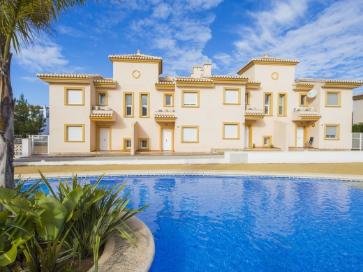 4 bed bungalow in Calpe