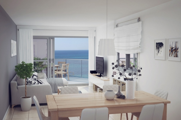 3 bed apartments / penthouses in Calpe