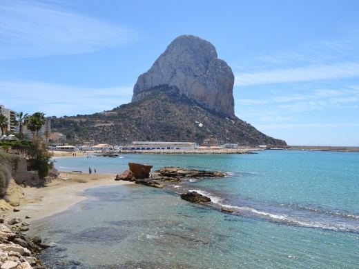 Calpe Beaches - Playa Cantal Roig
