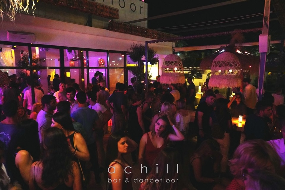 Javea Nightlife at Achill Bar & Dancefloor
