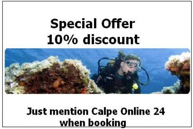 Scuba Diving (CEMAS): 10% Discount (Special Offer)