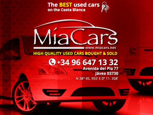 Mia Cars - Used Cars for Sale Javea