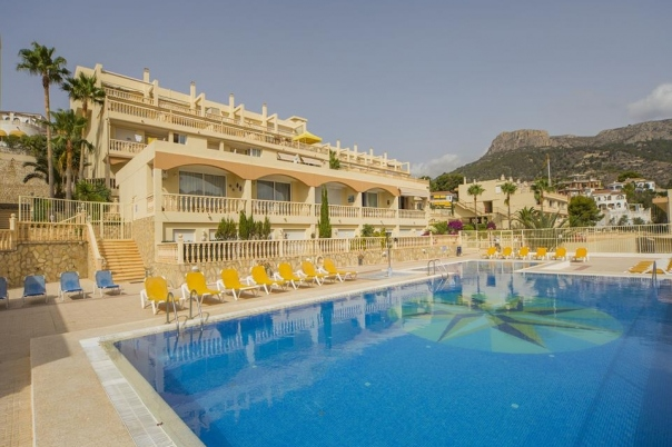 2 bed villa in Calpe