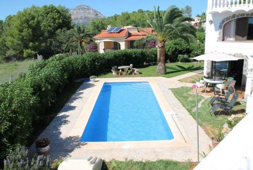 4 bed villa in Javea