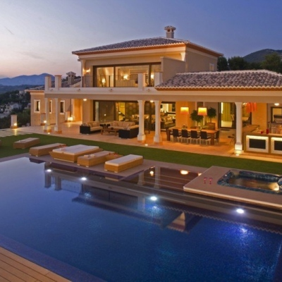 5 bed villa in Moraira
