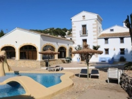 10 bed villa in Moraira