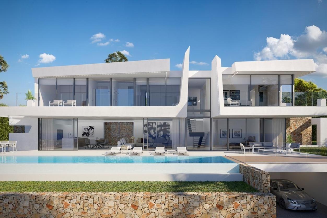 4 bed villa in Moraira